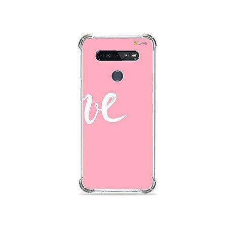 Capinha para LG K51s - Love 2