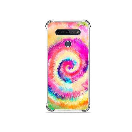 Capinha para LG K51s - Tie Dye
