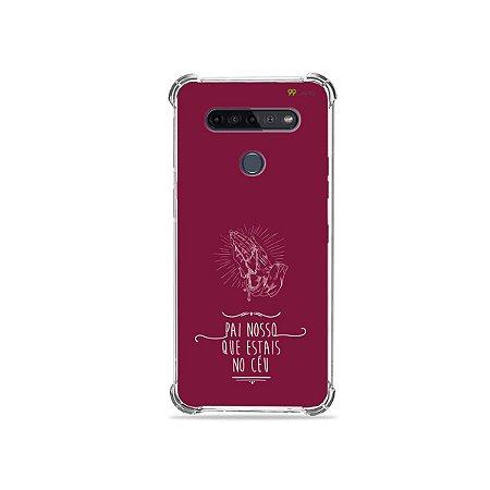 Capinha para LG K51s - Pai Nosso