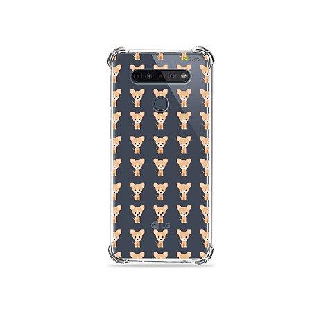 Capinha (Transparente) para LG K51s - Chihuahua