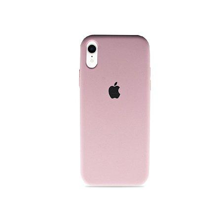 Silicone Case Rosa Claro para iPhone XR - 99Capas