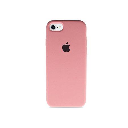 Silicone Case Rosa Claro para iPhone 8 Plus - 99Capas