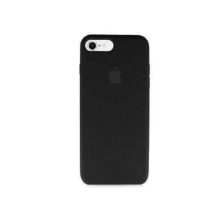 Silicone Case Preta para iPhone 8 Plus - 99Capas