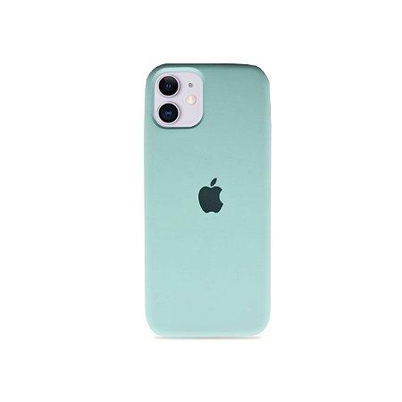 Silicone Case Verde Água para iPhone 11 - 99Capas
