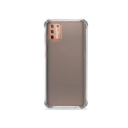 Capa Fumê para Moto G9 Plus {Semi-transparente}
