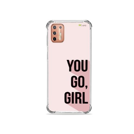 Capinha para Moto G9 Plus - You Go, Girl