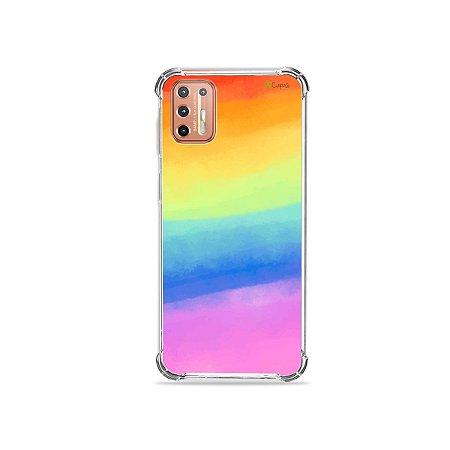 Capinha para Moto G9 Plus - Rainbow