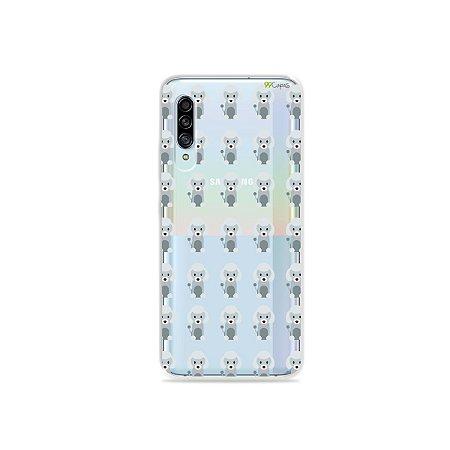 Capinha (Transparente) para Galaxy A90 - Poodle