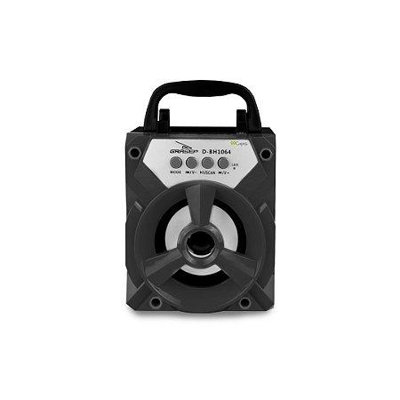 Mini Caixinha de Som Bluetooth Ameixa (preta) - 99Capas