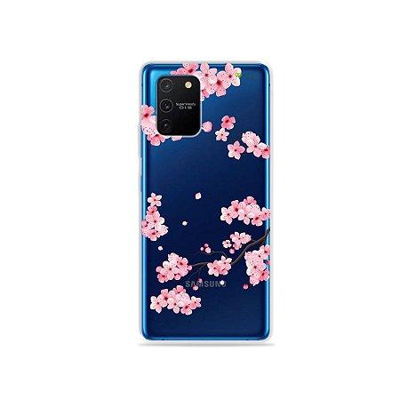 Capa (Transparente) para Galaxy S10 Lite - Cerejeiras