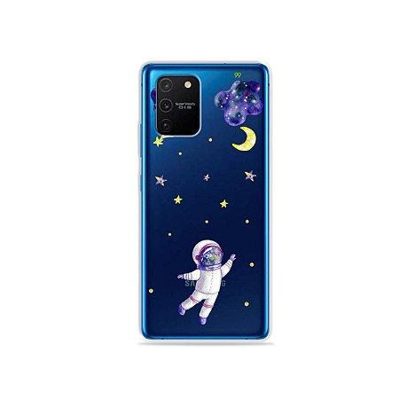 Capa (Transparente) para Galaxy S10 Lite - Astronauta Sonhador