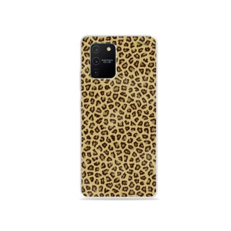 Capa (Transparente) para Galaxy S10 Lite - Animal Print