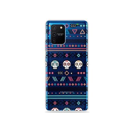 Capa (Transparente) para Galaxy S10 Lite - Tribal