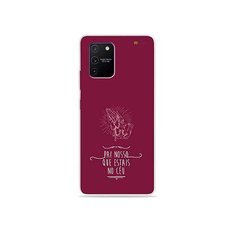 Capa para Galaxy S10 Lite - Pai Nosso