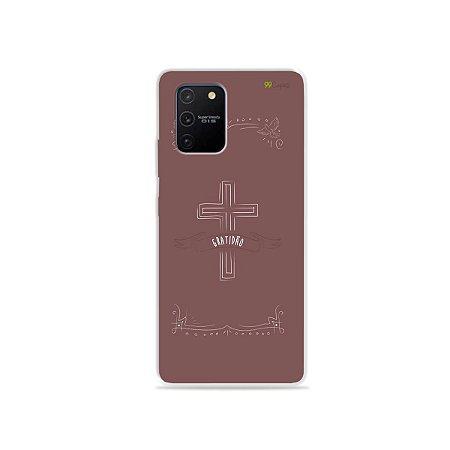 Capa para Galaxy S10 Lite - Gratidão