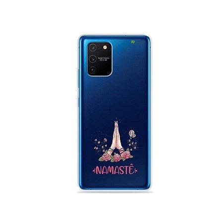 Capa (Transparente) para Galaxy S10 Lite - Namastê