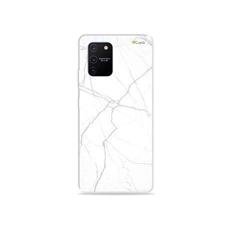 Capa para Galaxy S10 Lite - Marble White