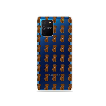 Capa (Transparente) para Galaxy S10 Lite - Golden