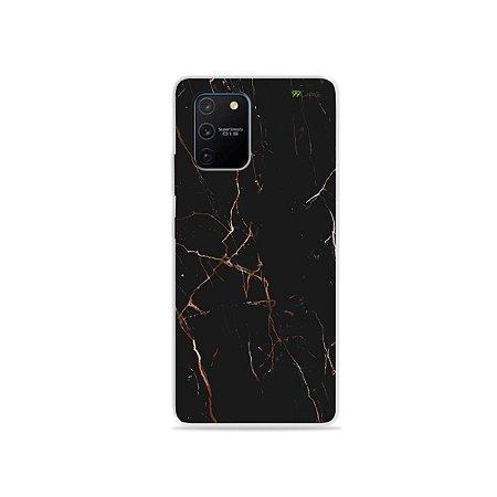 Capa para Galaxy S10 Lite - Marble Black