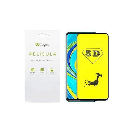 Película de Gel 5D (flexível) para Redmi Note 9 Pro