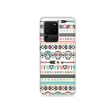 Capa (Transparente) para Galaxy S20 Ultra - Tribal