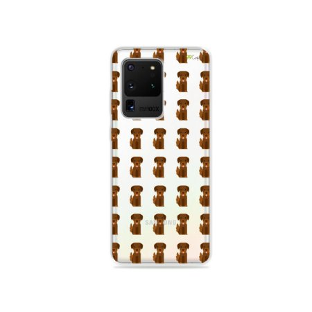 Capa (Transparente) para Galaxy S20 Ultra - Golden