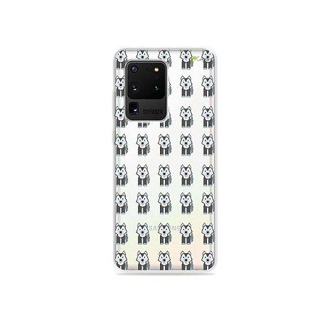 Capa (Transparente) para Galaxy S20 Ultra - Husky