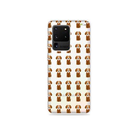 Capa (Transparente) para Galaxy S20 Ultra - Cocker