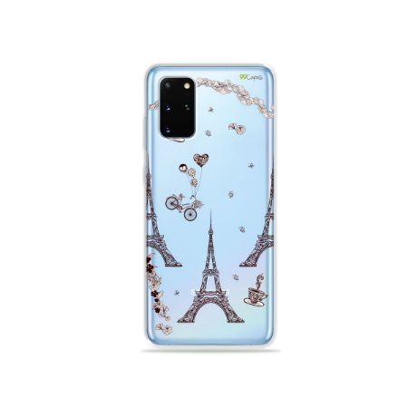 Capa (Transparente) para Galaxy S20 Plus - Paris