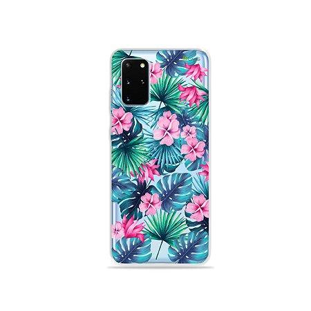 Capa para Galaxy S20 Plus - Tropical