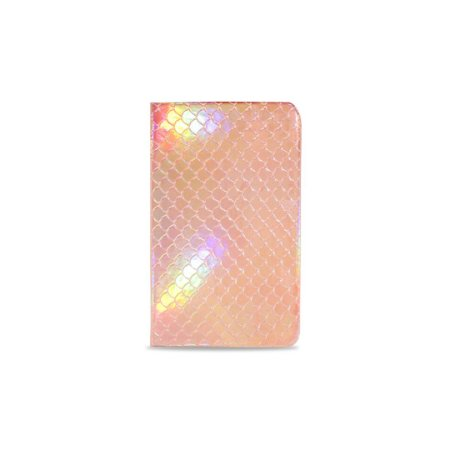 Caderneta Sereia Rosé (Holográfica)