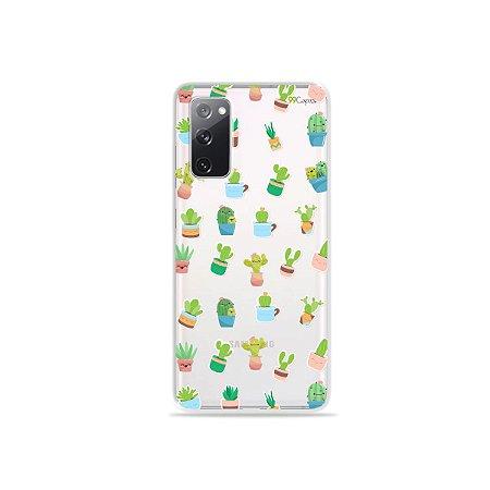 Capa (Transparente) para Galaxy S20 FE - Cactus