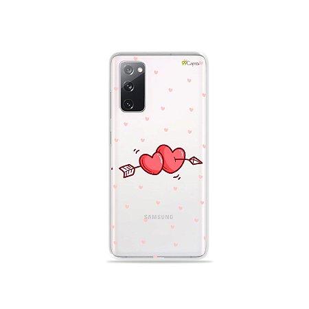 Capa (Transparente) para Galaxy S20 FE - In Love
