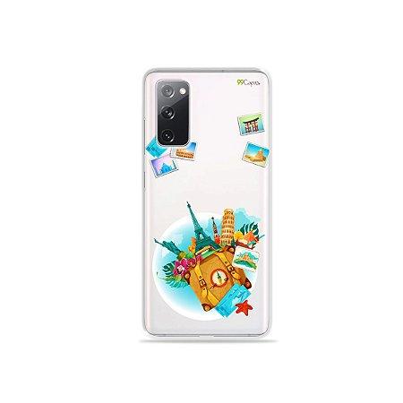 Capa (Transparente) para Galaxy S20 FE - Memórias