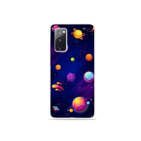 Capa para Galaxy S20 FE - Galáxia