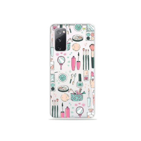 Capa (Transparente) para Galaxy S20 FE - Make Up