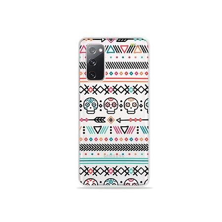Capa (Transparente) para Galaxy S20 FE - Tribal