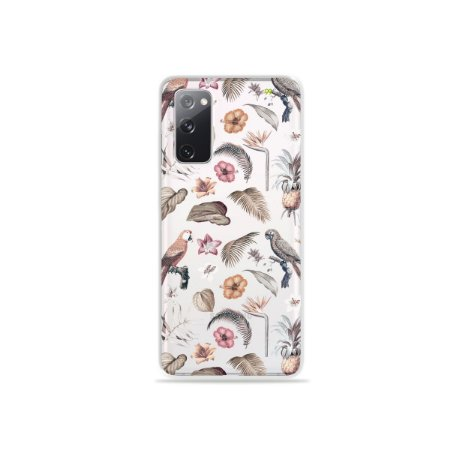 Capa (Transparente) para Galaxy S20 FE - Sweet Bird