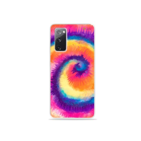 Capa para Galaxy S20 FE - Tie Dye Roxo