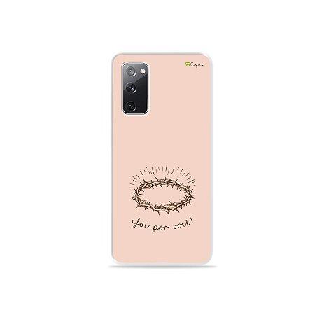 Capa para Galaxy S20 FE - Foi por você
