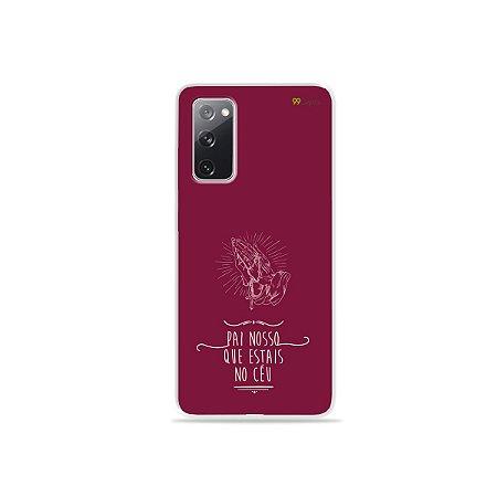 Capa para Galaxy S20 FE - Pai Nosso