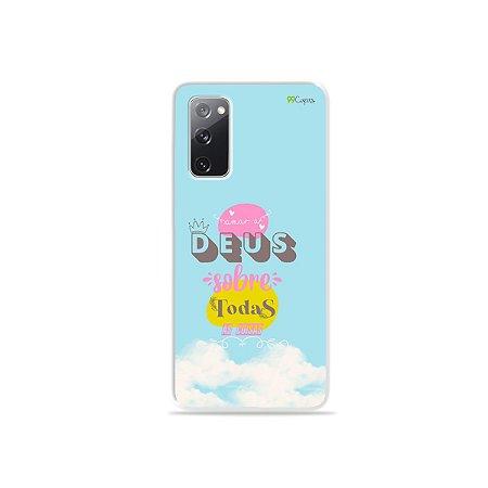 Capa para Galaxy S20 FE - Amar a Deus