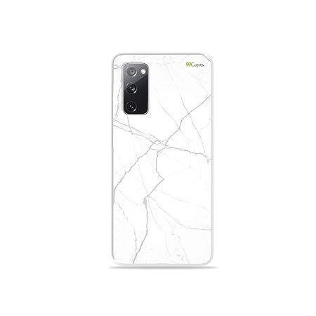 Capa para Galaxy S20 FE - Marble White