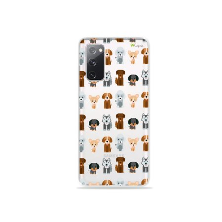 Capa (Transparente) para Galaxy S20 FE - Doguinhos