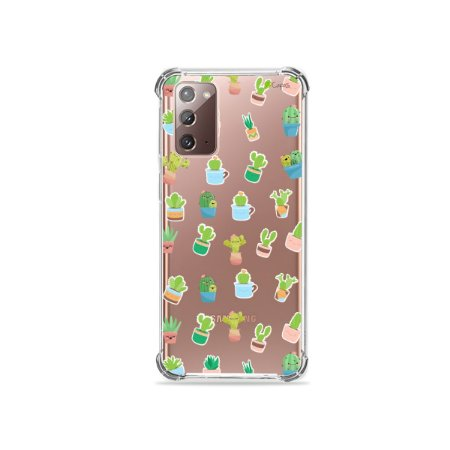 Capa (Transparente) para Galaxy Note 20 - Cactus