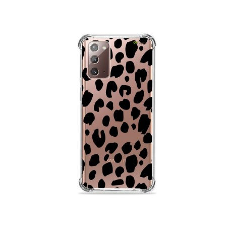 Capa (Transparente) para Galaxy Note 20 - Animal Print Basic