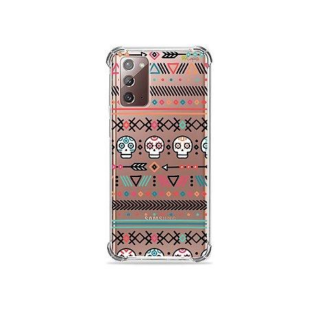 Capa (Transparente) para Galaxy Note 20 - Tribal