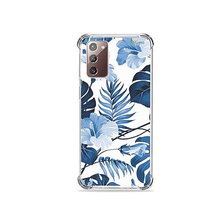 Capa para Galaxy Note 20 - Flowers in Blue