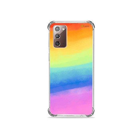 Capa para Galaxy Note 20 - Rainbow