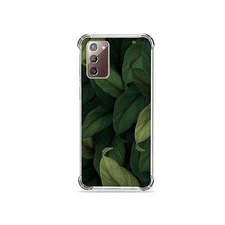 Capa para Galaxy Note 20 - Folhas